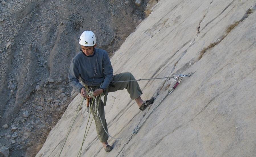 3.Джамшед Кадыров. В клубе с 2007 года. Альпинизм. Скалолазание.