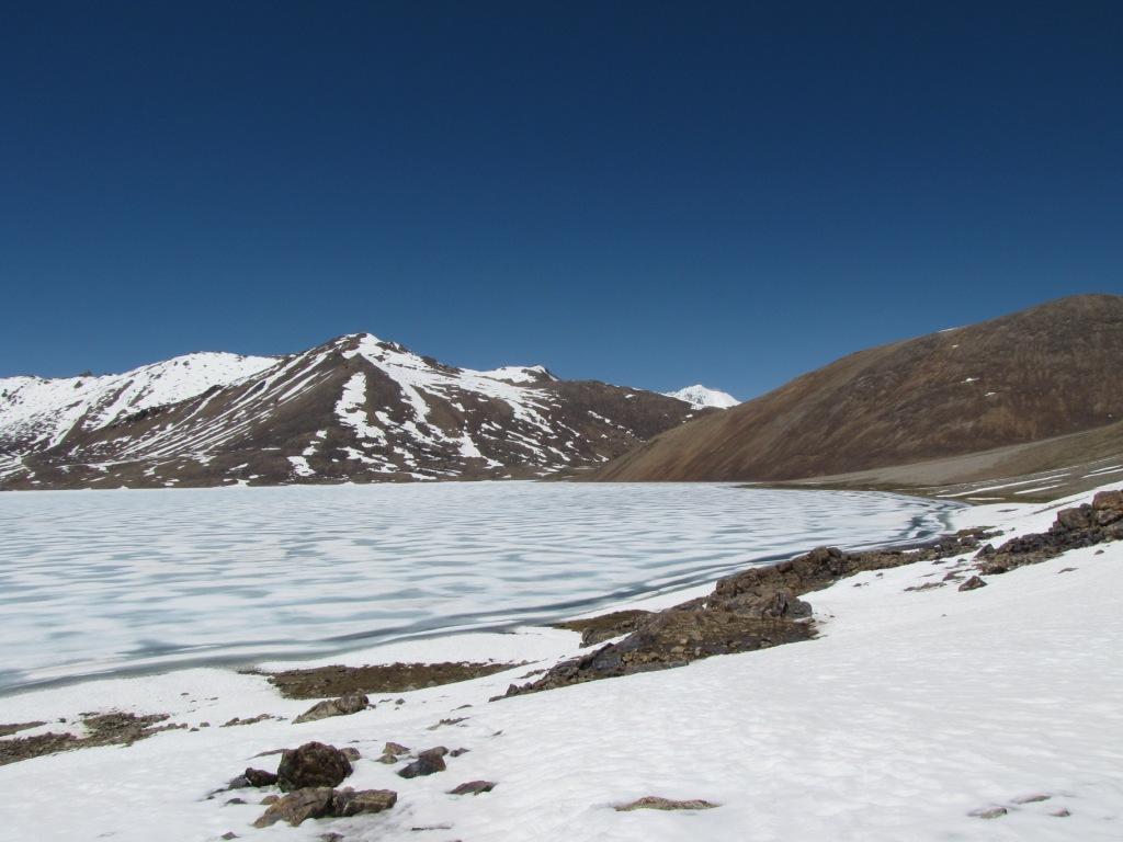 озеро чапдар во льду сашино фото