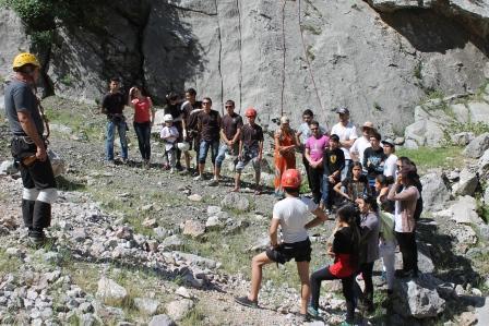 Первенство Федерации альпинизма и спортивного скалолазанию Республики Таджикистан                                               по спортивному скалолазания 25 мая 2014 года