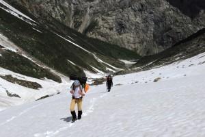 5.подъём на Зелёную поляну май