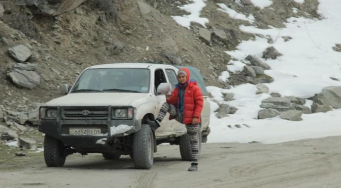 Pamir. Road M41. Shugnan. Village Mun. January 2019.
