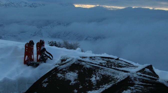 Зимний поход. Горы Гусхор.