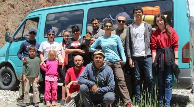6-9 июня 2020г. Скалолазание в Таджикистане. Искандеркуль .